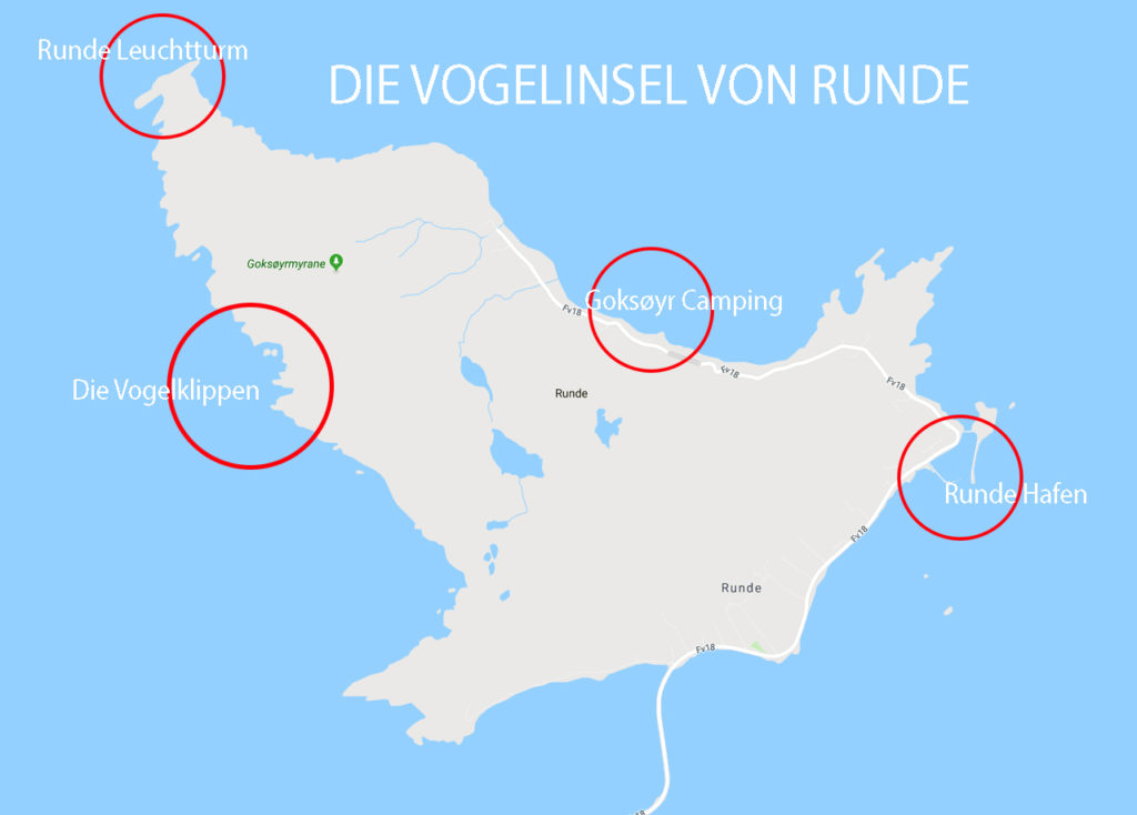 Runde Boattrip Map Runde