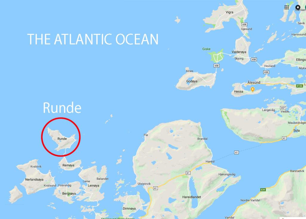 Runde Boattrip Coastline Runde